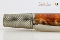 SchreibMeister handgemachter Kugelschreiber aus Red Mallee