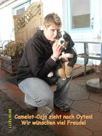 Camelot-Cujo und sein neues Frauchen!