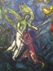 Travail sur les prénoms et sur les anges au Thoronet (83)