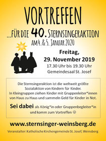 Aktuelles Sternsinger Weinsberg