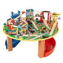 """Matériel de jeux en bois : Circuit pour enfants en bois """"City explorer"""" kidcraft. Circuit enfants en bois """"City explorer"""" de qualité et à acheter pas cher."""