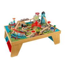 """Matériel de jeux en bois : Circuit et table pour enfants en bois """""""" kidcraft. Circuit enfants en bois """""""" de qualité et à acheter pas cher."""