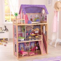 """Matériel de jeux en bois : maison de poupées en bois """"Kayla"""" kidcraft. Maison en bois de poupées de qualité et à acheter pas cher."""