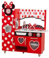 Matériel de jeux en bois : cuisine enfants Disney® Jr. Minnie Mouse kidcraft. Maison en bois de poupées de qualité et à acheter pas cher.