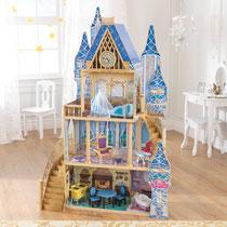 """Matériel de jeux en bois : maison de poupées en bois """"Princesse Cendrillon Disney"""" kidcraft. Maison en bois de poupées Princesse cendrillon Kid craft de qualité et à acheter pas cher."""