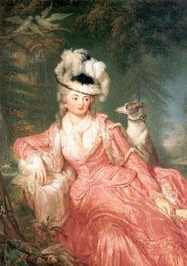 リヒテナウ伯爵夫人ヴィルヘルミーネ・フォン・エンケ