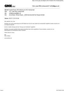 Email_ParteiobmannSPÖ_Paar_Auskunft betr. SPÖ Aktuell Juni 2012-Handymast_20120705