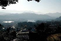 普門寺権現堂からの風景