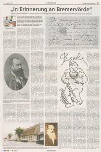 Bremervörder Zeitung vom 15.08.2010