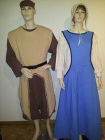 Mittelalter Kostüme,je Fr.39.-