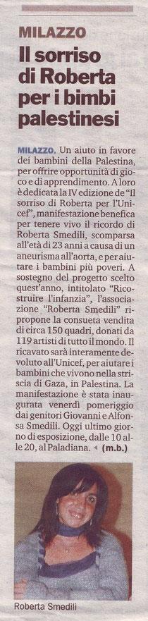 Gazzetta del Sud - 28 Maggio 2012