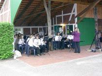 Einweihung am 15.05.09 mit dem Jugendorchester der Bremervörder Stadtkapelle