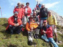 Bergmesse Rofanspitze mit Gipfelkreuzeinweihung