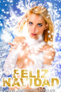 feliz navidad, body paint xmen, body paint emma frost, bodypaint superhero, snow