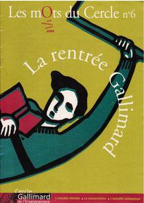 Gallimard | mots du Cercle n°6