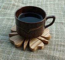 コーヒーカップ皿として