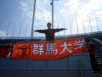 今年は関カレでの飛躍と活躍を誓う主将・石田