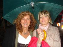 Ich mit Schauspielerin Gisela Schneeberger