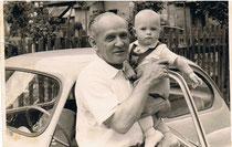 mein Opa  + ich