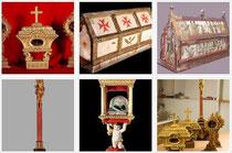 Crucifix, reliquaires, reliquaire classé