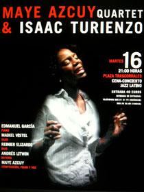 Concierto de Maye Azcuy en la Plaza Trascorrales en Oviedo