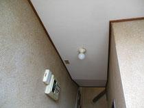 ☆天井のクロス貼り替え「新しく貼ったところ」☆