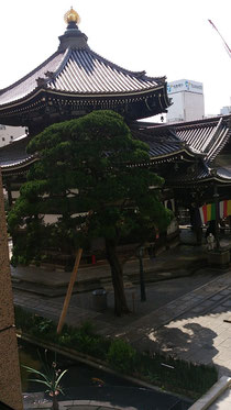 京都 池坊 六角堂