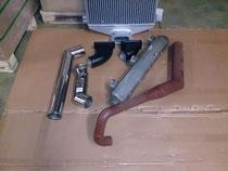 12M18 Ladeluftkühler Umbau Set