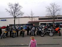 13.03.2011 Ausfahrt Ries Rand, Eisdiele