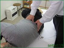 腰方形筋トリガーポイント治療