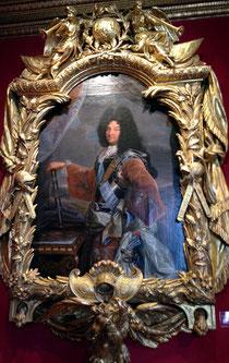Der Sonnenkönig: Louis XIV in jungen Jahren, Porträt von Rigoud