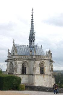 Das Grab Leonardos befindet sich in der Kapelle.