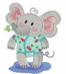 Pyjama-Elefant