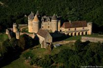 Le magnifique château de Fénelon, dans le Périgord noir, à proximité de Sarlat.