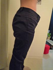 オールハンドリンパ痩身24回・きつかったズボンがブカブカに。