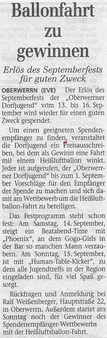 29.07.2002 Schweinfurter Tagblatt