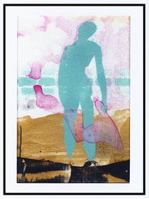 In der Vorhölle, Akryl, 2002