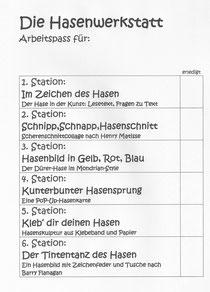 Gelbe Karte Grundschule.Kunstunterricht In Der Grundschule Stationsarbeiten Zu