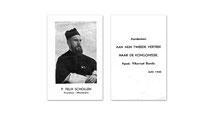 Kruisheer-missionaris P.Felix Schollen. Foto en tekst verkregen door toedoen van Jos Deygers.