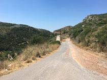 Anfahrt zum Camping Tsapi