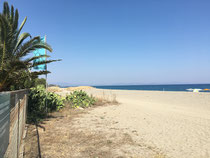 Schöner Strand bei Gythion