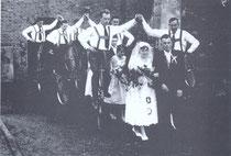 Hochzeitspalier 1959