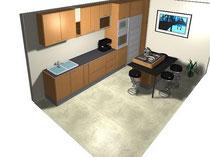 Dise e su cocina aqui en 3d dacal cocinas for Planificador de cocinas 3d gratis