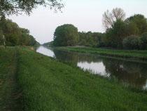 Waserkanäle Richtung Balaton (1 km vom FH)