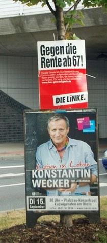 Konstantin Wecker gegen die Rente mit 67? Fünf Jahre hätte der Sänger bis dahin noch.