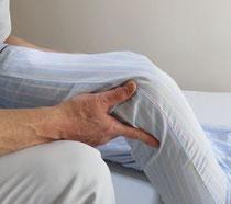 ひざ痛の施術写真1