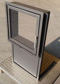 Kachelofen Türe