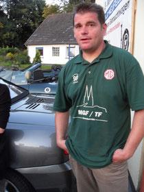 Michael, unter Touren-Guide für die Eifel und Mann der ersten Stunde unseres MG-Stammtisches :-)