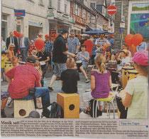 Weilburger Tageblatt Tipp des Tages 21 06 2013 Fête - Musik satt