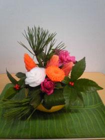 Hさんのお正月のアレンジ